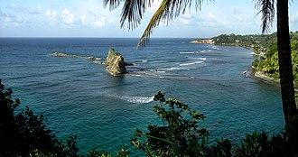 Saint Andrew Parish, Dominica - Calibishie beach