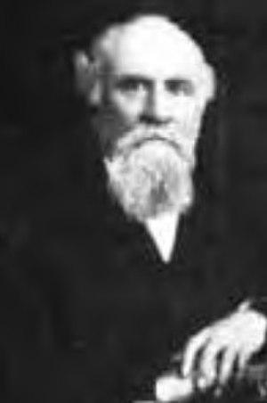 John Sharpstein - Cropped 1890 image of California Supreme Court Justice John R. Sharpstein.