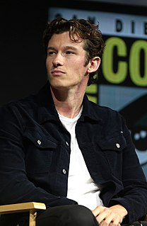 Callum Turner British actor