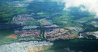 General Trias, Cavite - Image: Camella Homes Tierra Nevada General Trias Cavite Aerial Photo