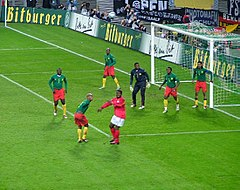 Cameroon vs Germany 2003