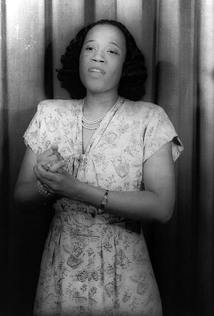 Camilla Williams - Camilla Williams, photo taken by Carl Van Vechten, 1946.