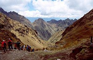 Warmi Wañusqa - Descent from Warmi Wañusqa