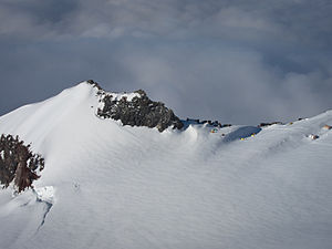 Camp Muir - Camp Muir from the northeast