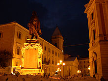 Piazza Gabriele Pepe a Campobasso
