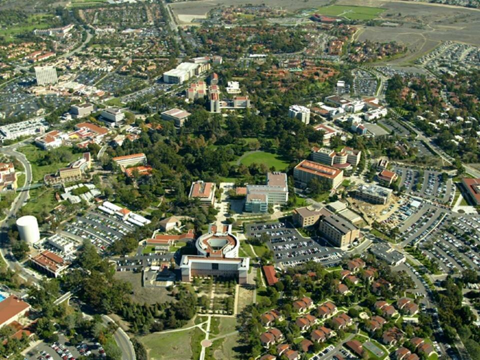 Campus of the University of California, Irvine (aerial view, circa 2006)