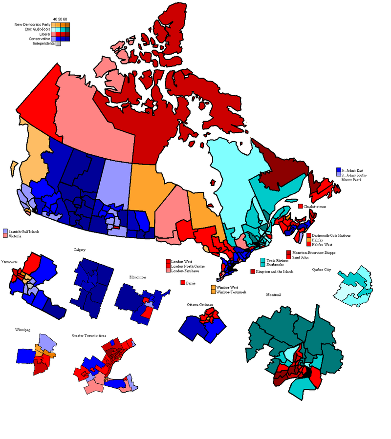 report on upcoming elections in canada