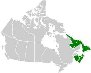 History of the petroleum industry in Canada (frontier exploration and development) - Canada's east coast offshore regions comprise the continental shelves of the four Atlantic provinces.