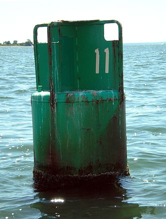 Sea mark - Image: Canbuoy 11