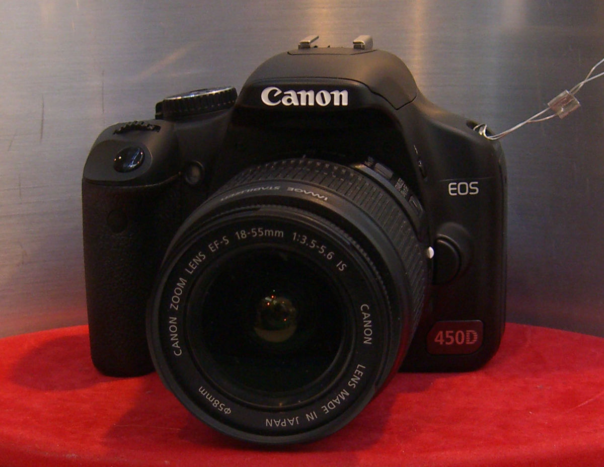 Canon EOS 450D – Wikipedia tiếng Việt