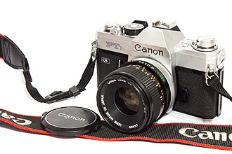 Canon FTb - Image: Canon F Tb analog camera with original 50mm lens