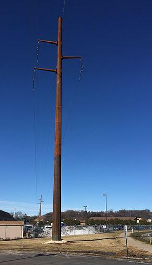 Great River Energy - CapX 2020 power line in Onalaska, Wisconsin