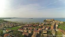 Capodimonte ( VT ) - Visto dal Drone