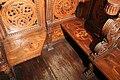 Cappella dei magi, stalli su disegno di Giuliano da Sangallo, 06.JPG