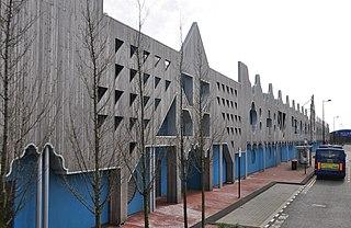 Roath Lock BBC studio complex in Cardiff, Wales