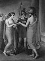 Carl Goos - Elektras møde med Orestes og Pylades efter Agamemnons død - KMS330 - Statens Museum for Kunst.jpg