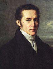 Carl Gustav Carus, Gemälde von Johann Carl Rössler, um 1810 (Quelle: Wikimedia)