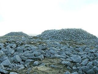 Garreg Las mountain in United Kingdom