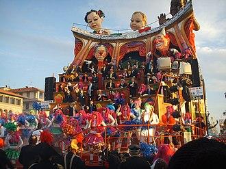 Carnival in Italy - Viareggio Carnival 200877, Uer iz de parti?