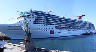 Spirit-class cruise ship - Image: Carnival Spirit 2