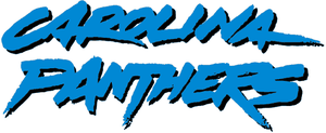 1996 Carolina Panthers season - Image: Carolina Panthers wordmark (1996 2011)