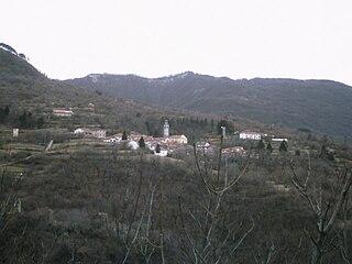 Carrega Ligure Comune in Piedmont, Italy