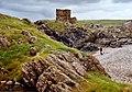 Carrickabraghy Castle, Inishowen, Co. Donegal - geograph.org.uk - 51146.jpg