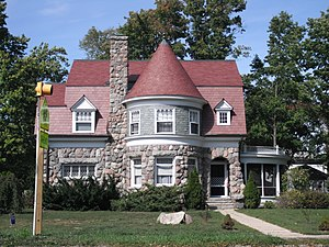 National Register of Historic Places listings in Cass County, Michigan - Image: Carroll and Bessie E. Jones House