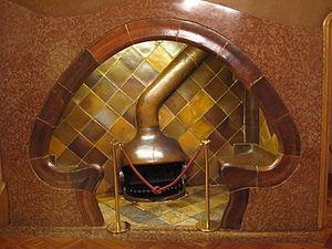 Casa Batlló - Casa Batlló fireplace seat