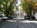 Casa Maria Lahovary azi Cambridge School, pe Calea Dorobantilor nr. 39, Bucuresti, sect. 1 (detail).JPG