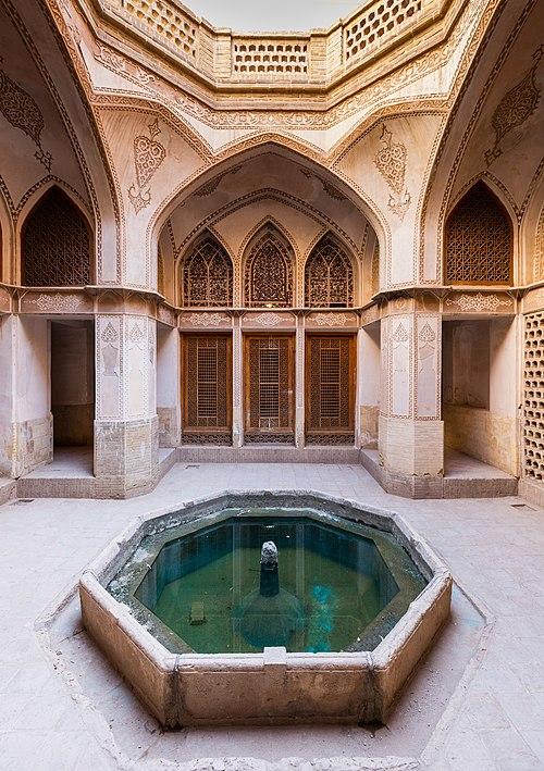 Casa histórica de Abbasi, Kashan, Irán, 2016-09-19, DD 75.jpg