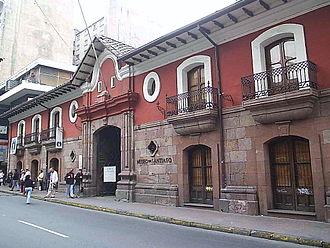Patria Vieja - La Casa Colorada, residence of Governor Mateo de Toro y Zambrano (Currently the Museo de Santiago)