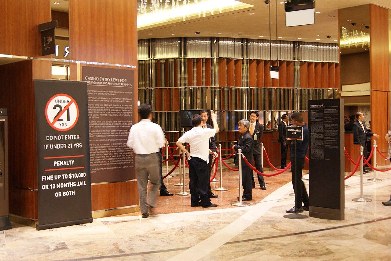 casino singapore license