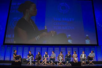 Panel discussion - Panel with the cast of The Flash at 2015 PaleyFest