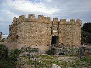 Castello a Mare - Image: Castello a mare di Palermo fronte corpo fabbrica principale 06 nov 2016