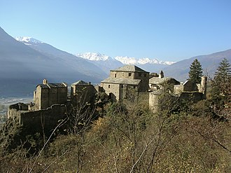 Quart, Aosta Valley - Castle of Quart.