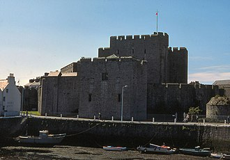 Magnús Óláfsson - Castle Rushen, where Magnús died in 1265. By the mid thirteenth century the castle had become the power-centre on Mann. The castle dates to the late twelfth- or early thirteenth century.
