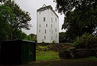 O'Shaughnessy - Ardamullivan Castle, an O'Shaughnessy stronghold from the 16th century