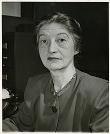 MacKenzie photographed at the New York Times in 1947