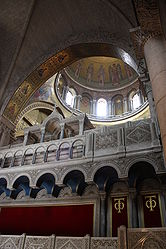 Catholicon dome, Holy Sepulchre 2010 2.jpg