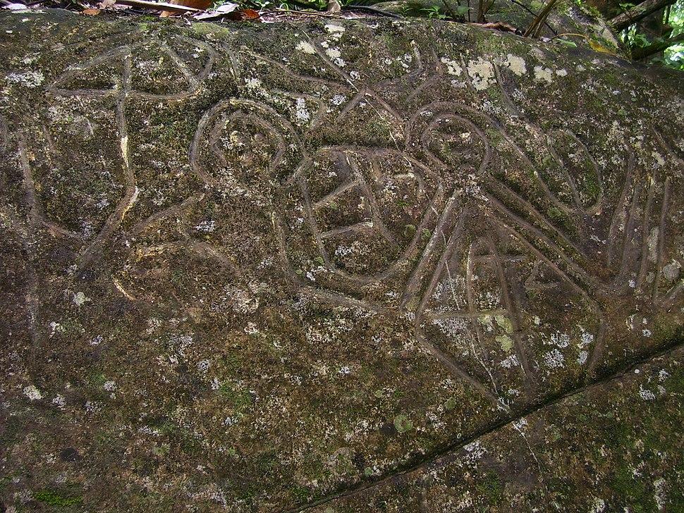 Caurita Petroglyph