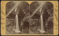 Cavern cascade, Watkins Glen, by Purviance, W. T. (William T.).png