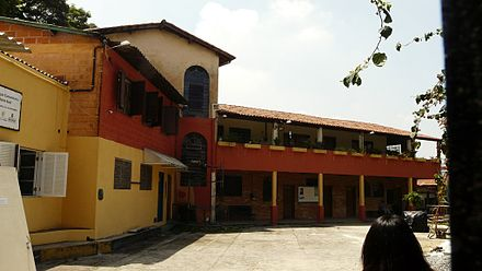 Cultural centre of the community organisation Monte Azul in Sao Paulo Centro Cultural Monte Azul.JPG