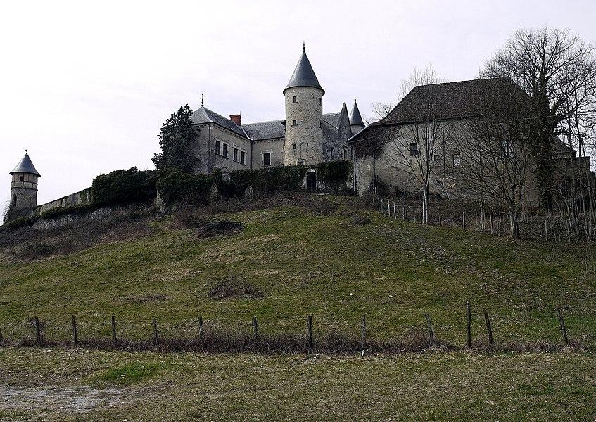 Château d'Andert,  (Inscrit, 1990)