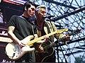 Cha-Cha and Glen Matlock at DMZ Peace Train Music Festival.jpg