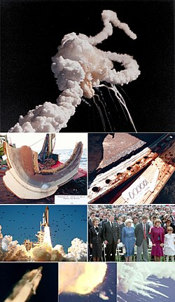 space shuttle challenger explosion -#main