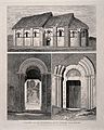 Chapel of the St. Julien Hospital, Rouen; plus details of th Wellcome V0014436.jpg