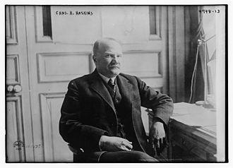 Charles Homer Haskins - Charles Homer Haskins in 1919