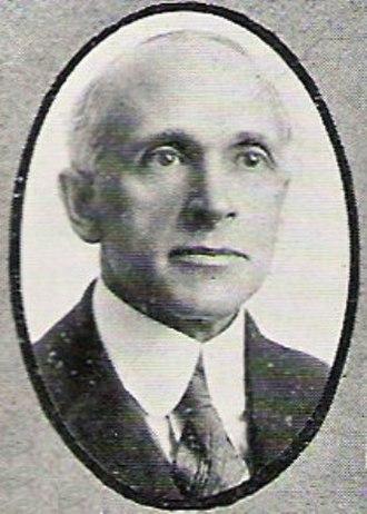 Charles R. Keyes - 1920 Yearbook Photo