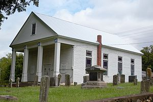 National Register of Historic Places listings in Bradley County, Tennessee - Image: Charleston Cumberland Presbyterian Church (4)